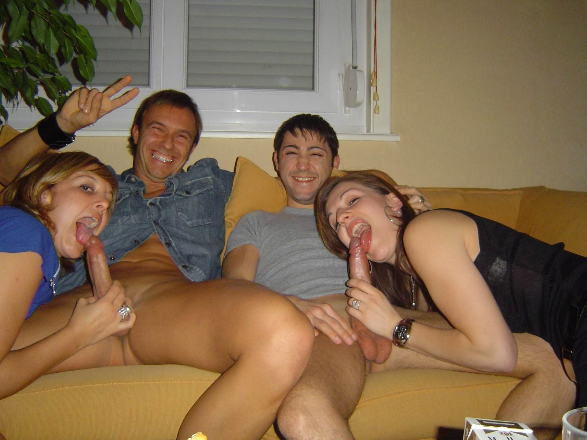 Sex real pics party Nudist Party