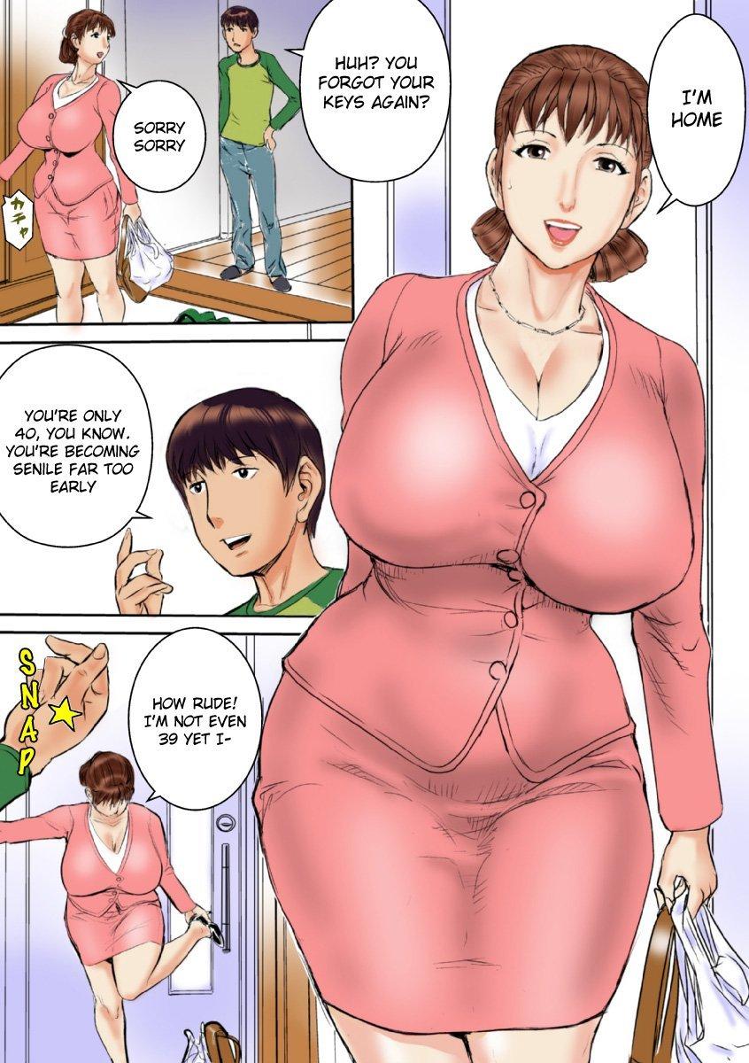 Bumble B. reccomend sex comics mom and son