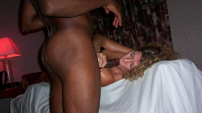 Hurricane reccomend amateur naked blowjob cock and interracial