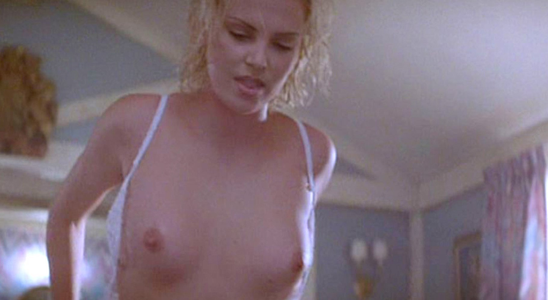 Pussy charlize theron Charlize theron