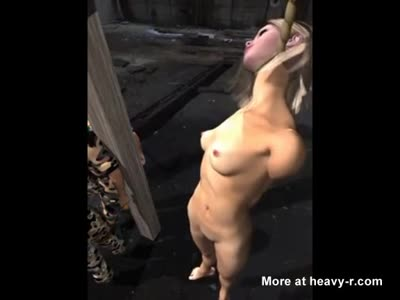 Neck bdsm hanging by the Neck hanging