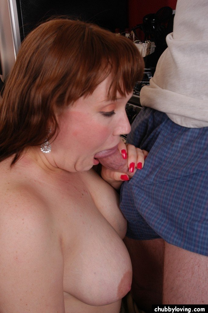 The purpose blowjob chubby loving with you