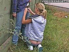 best of Blowjob teen outdoor