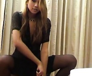 best of Masturbate penis woman and anal pantyhose