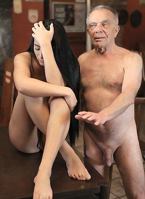 Old men naked