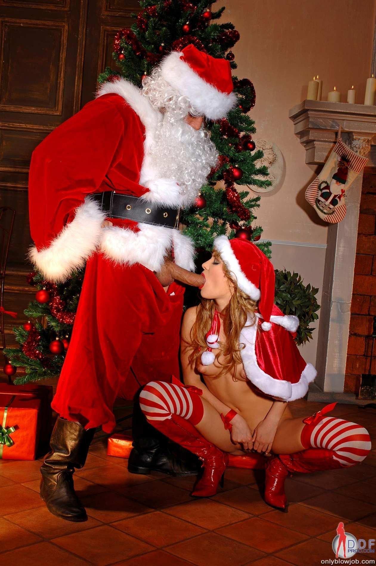 Blow a santa job gets confirm. And