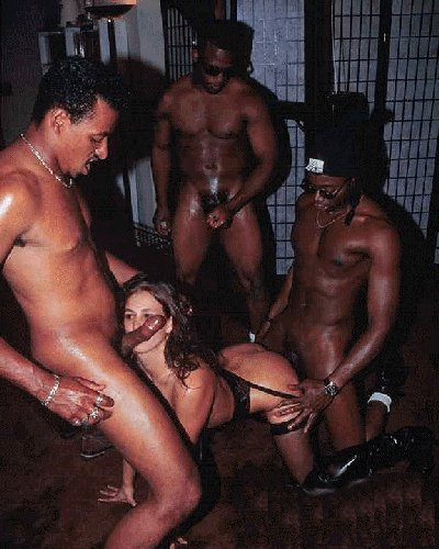 Hot porno hard core interacial group sex trailers