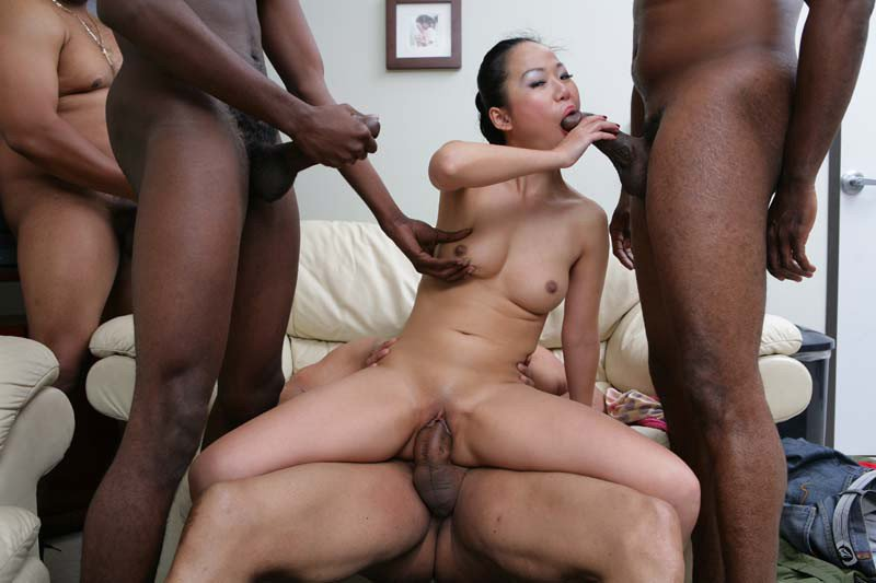 Nude photos asian wife gangbang tube