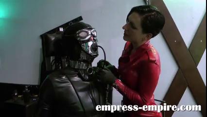 Butcher B. reccomend Bdsm rubber slave encased