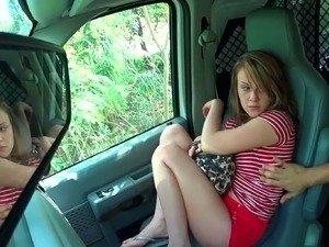 FUBAR reccomend Slut girlfriend handjob in car
