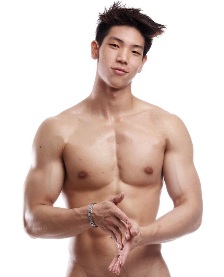 Asian male naked The World