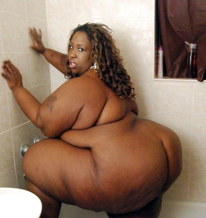 Very fat ssbbw ebony